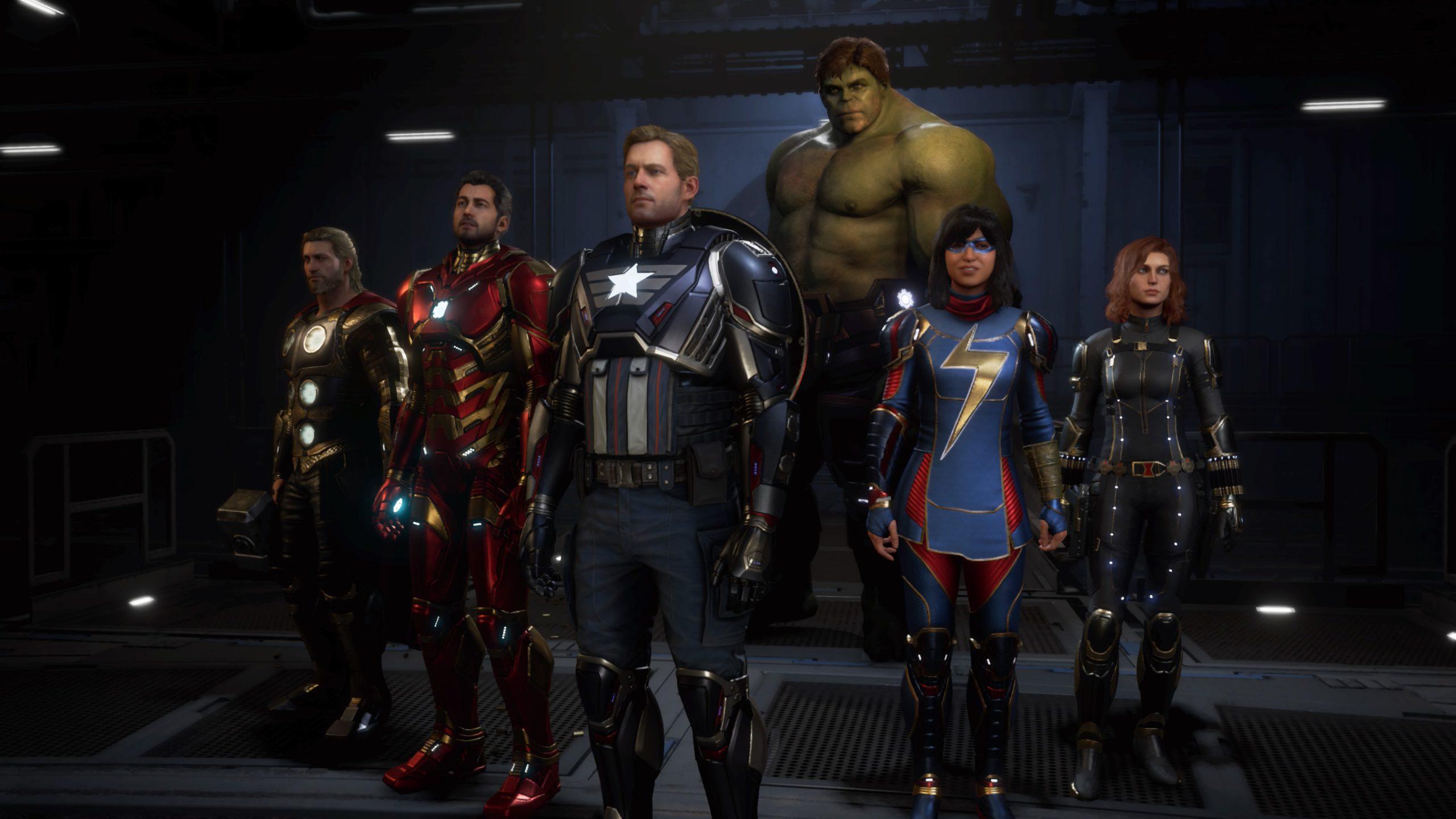 Les Avengers de Marvel's Avengers