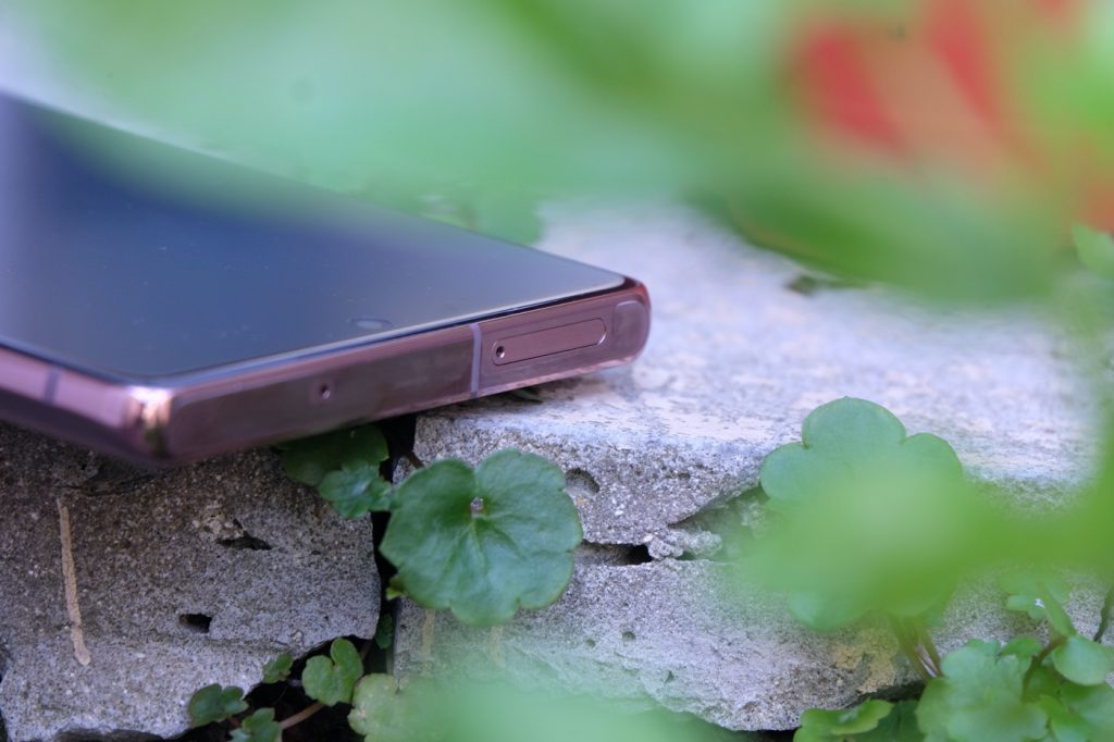 test samsung galaxy note 20 finitions