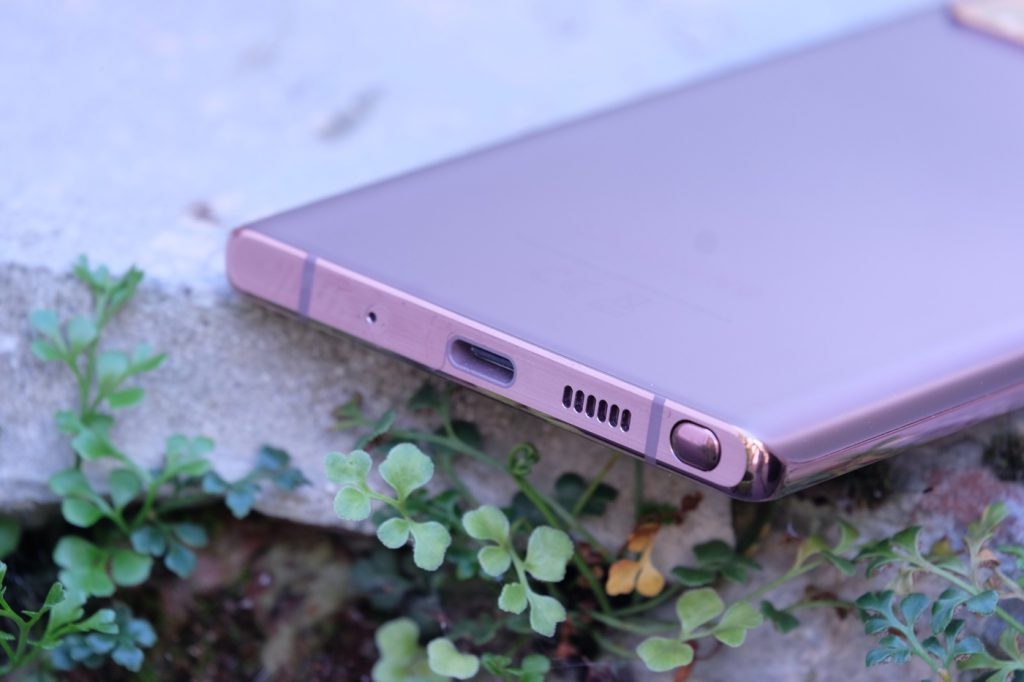 test samsung galaxy note 20 recharge