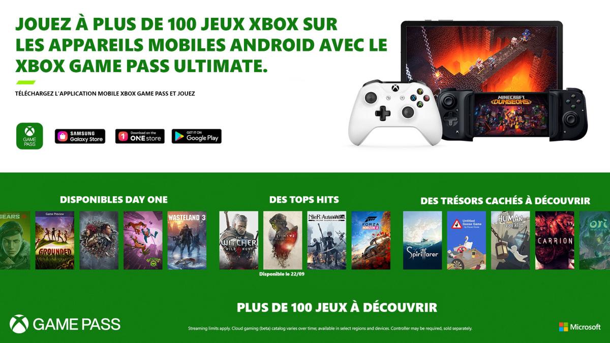 Lancement xCloud France