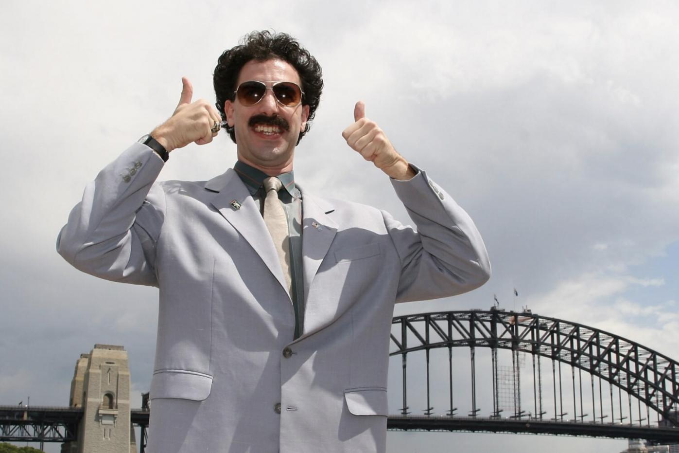 Borat cette surprenante suite pour Amazon Prime Video