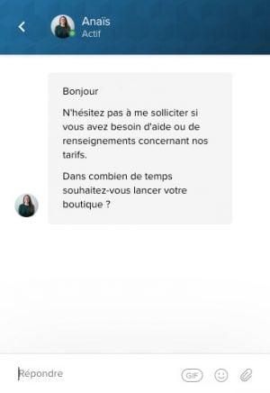 Chat direct WiziShop