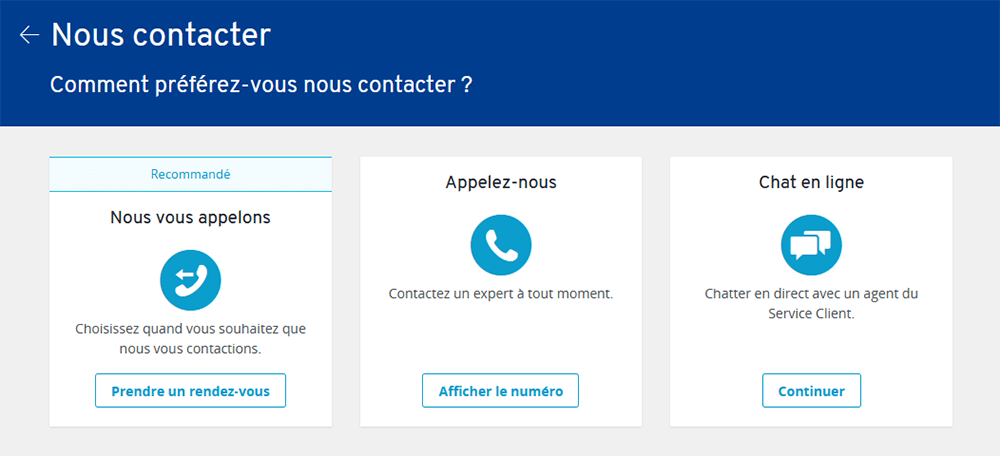Contact support IONOS