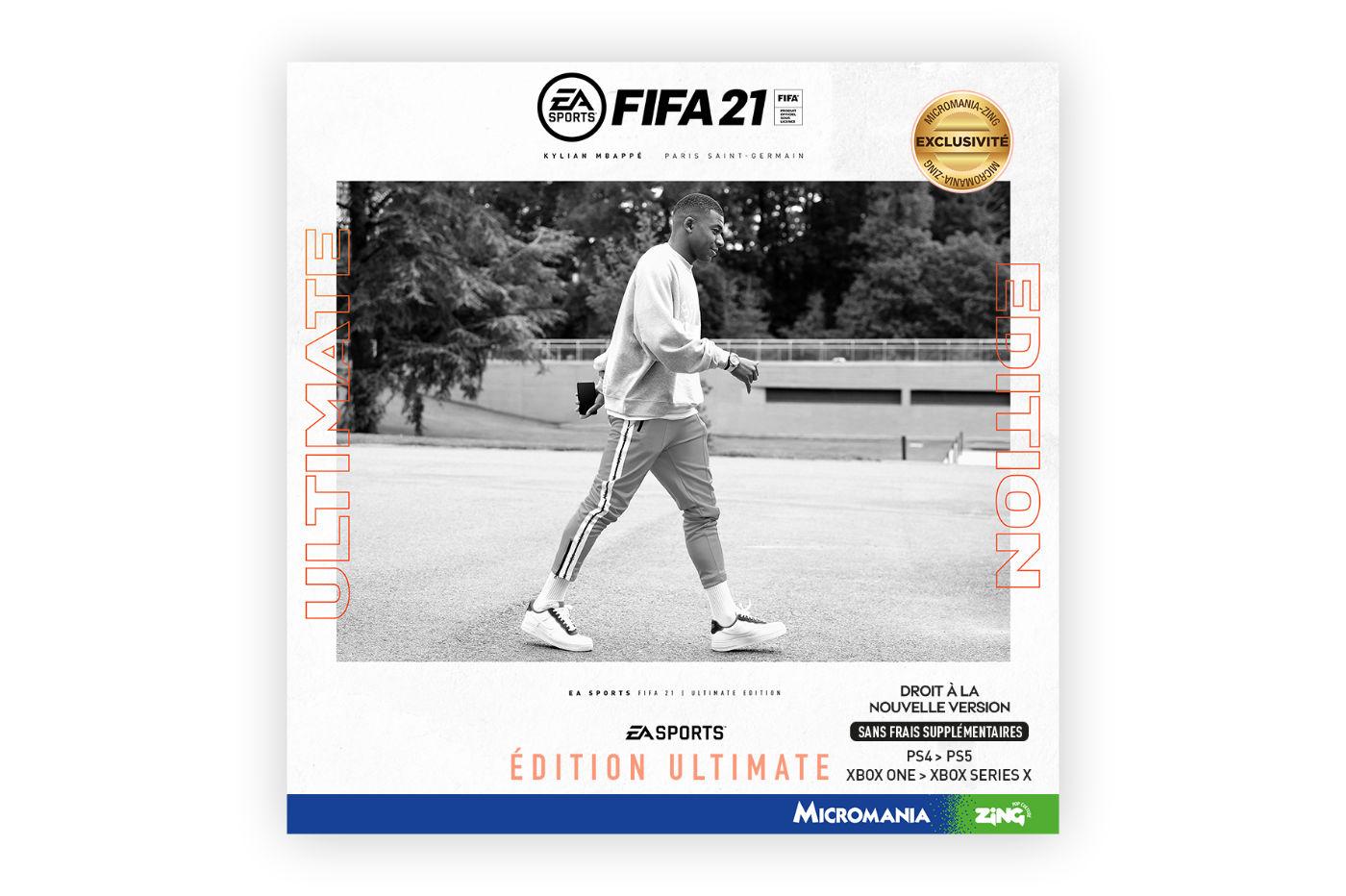Précommander FIFA 21 Micromania Edition Ultimate