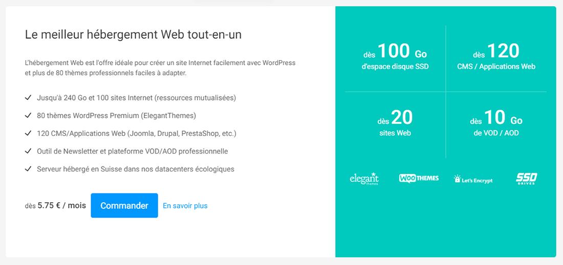 Hébergement web Infomaniak