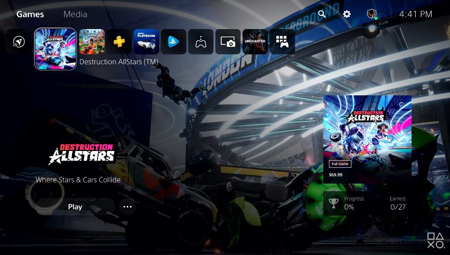 [Vidéo] Découvrez l'interface utilisateur de la nouvelle PS5 !