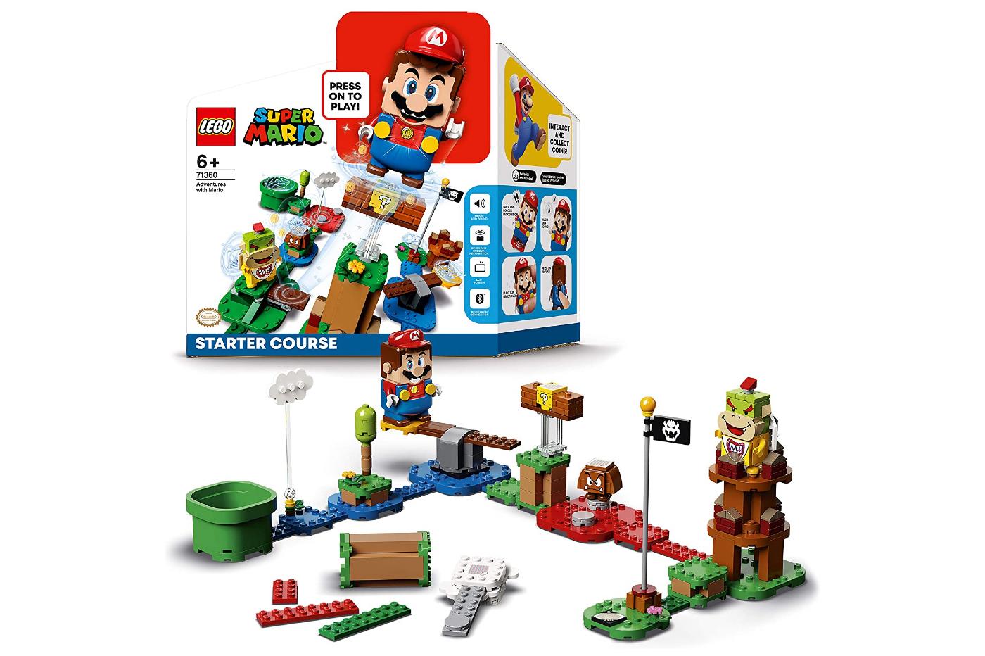 Pack de démarrage Lego Mario