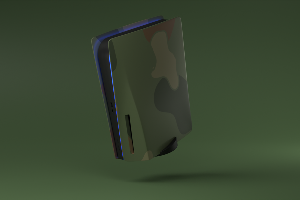 PlayStation 5 PS5 Vert Camouflage