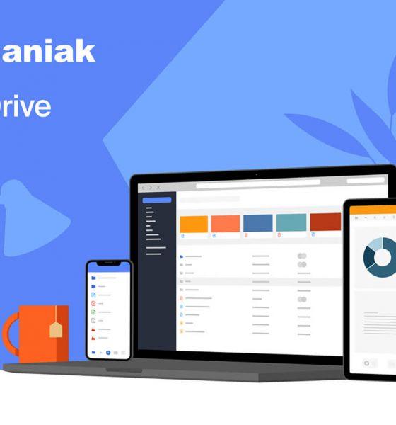 Présentation kDrive My kSuite Infomaniak