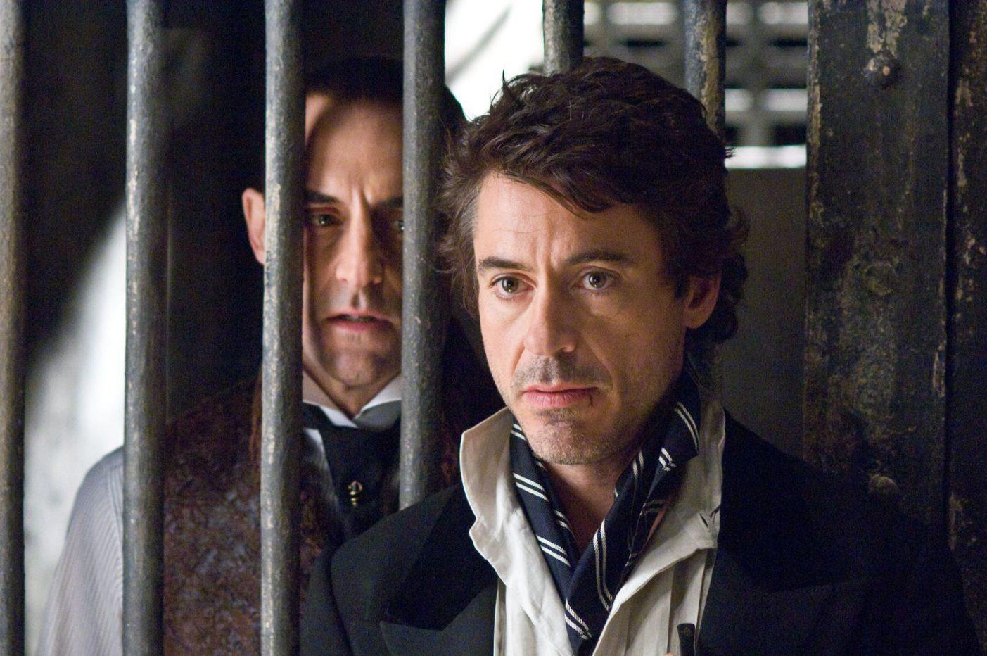 Un projet d'univers étendu pour Sherlock Holmes — Robert Downey Jr