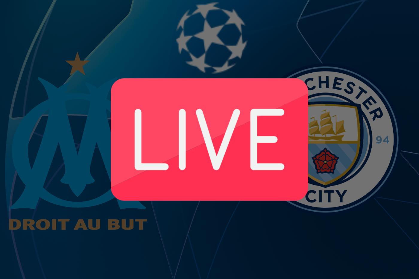 Streaming OM Manchester City: où regarder la Ligue des Champions ce soir en direct 🔴