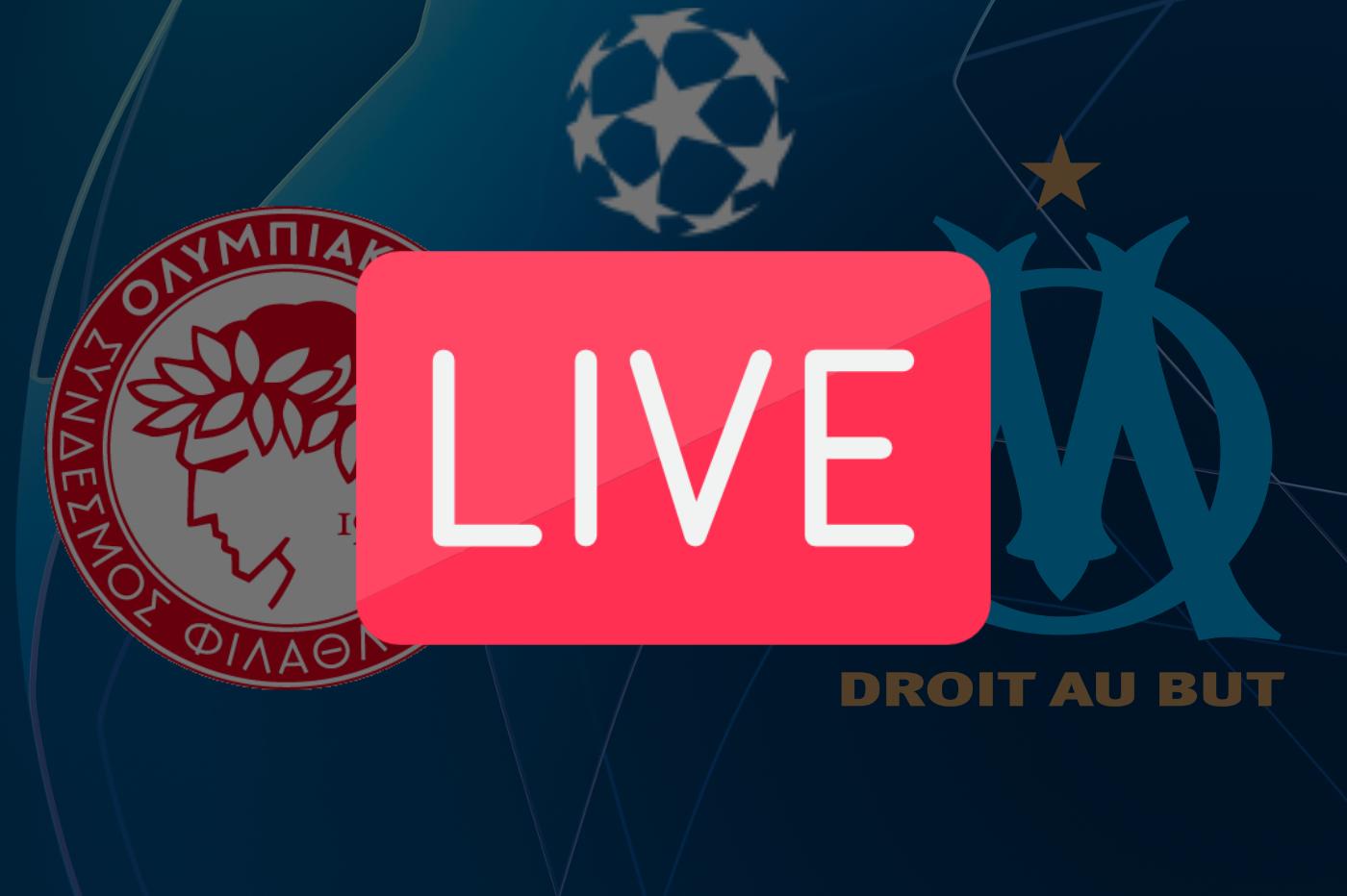 OM Olympiakos: où regarder la Ligue des Champions ce soir en direct 🔴
