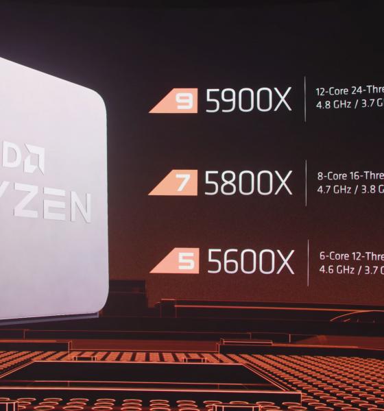 Les nouveaux processeurs AMD Ryzen 5000