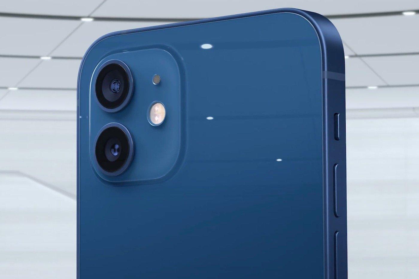Apple iPhone 12 bleu coloris