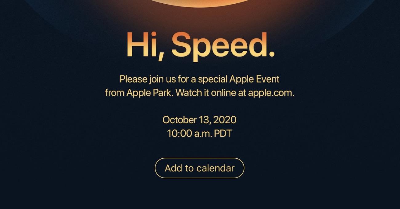 Apple keynote iPhone 12