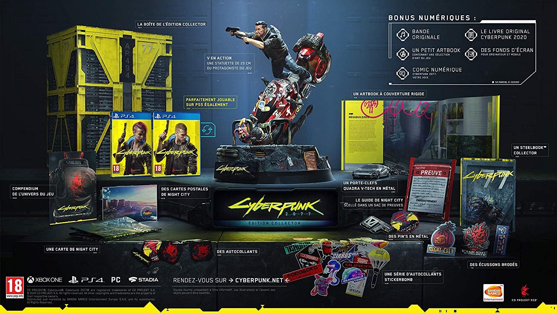 Collector Limité CyberPunk 2077