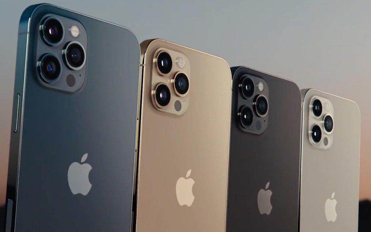 coloris iphone 12 pro