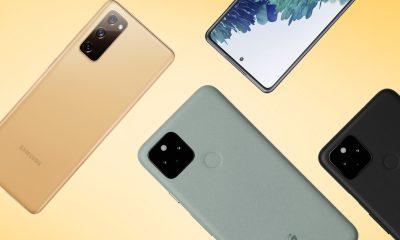 Galaxy S20 FE vs Pixel 5