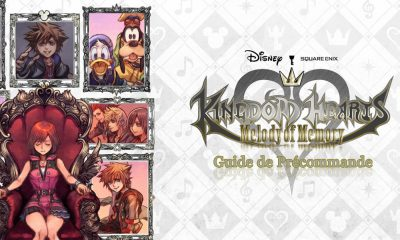 Guide Précommande Kingdom Hearts Melody of Memory