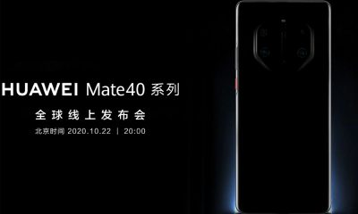 Huawei Mate 40 Pro module photo
