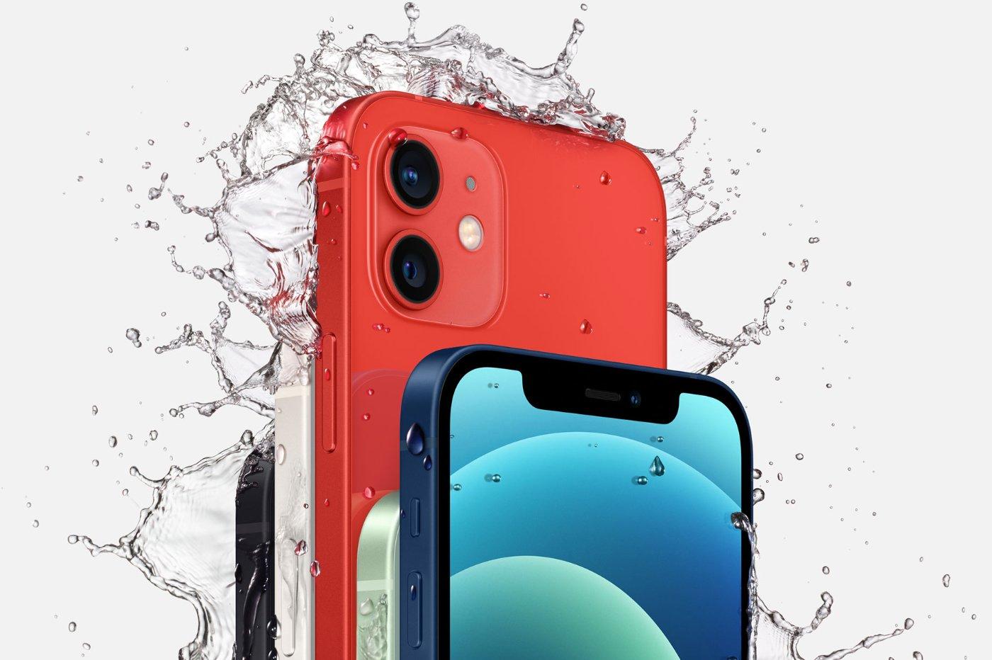 iPhone 12 résistant à l'eau