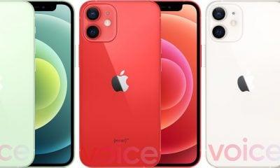 iphone 12 mini couleurs