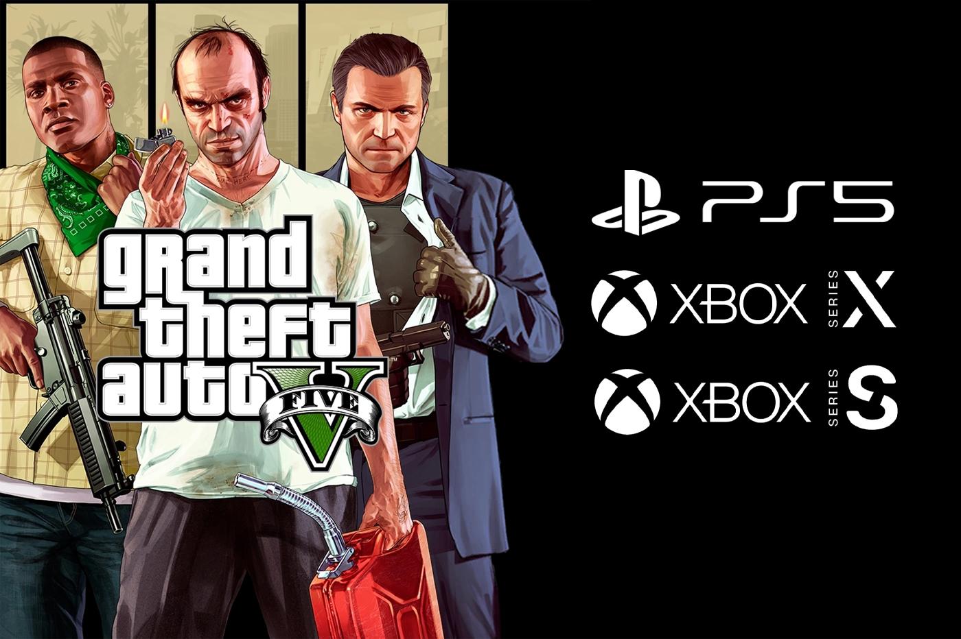 GTA V PS5 et Xbox Series X premiers détails contenu