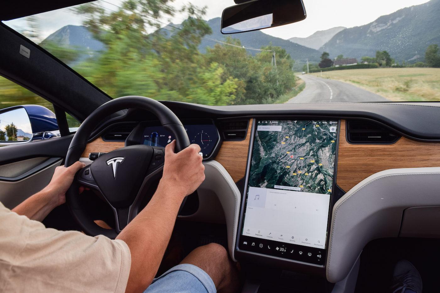 Model S conduite 2020