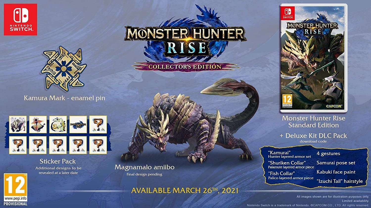 Monster Hunter Rise Collector