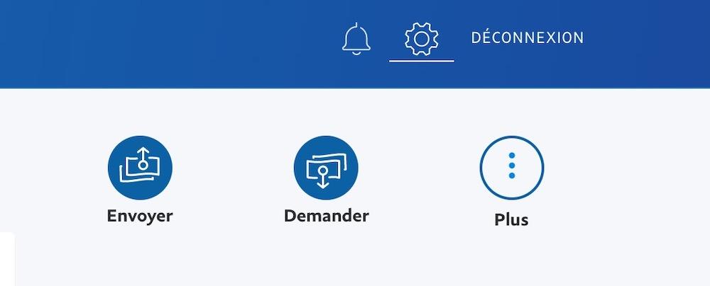 Paramètres PayPal