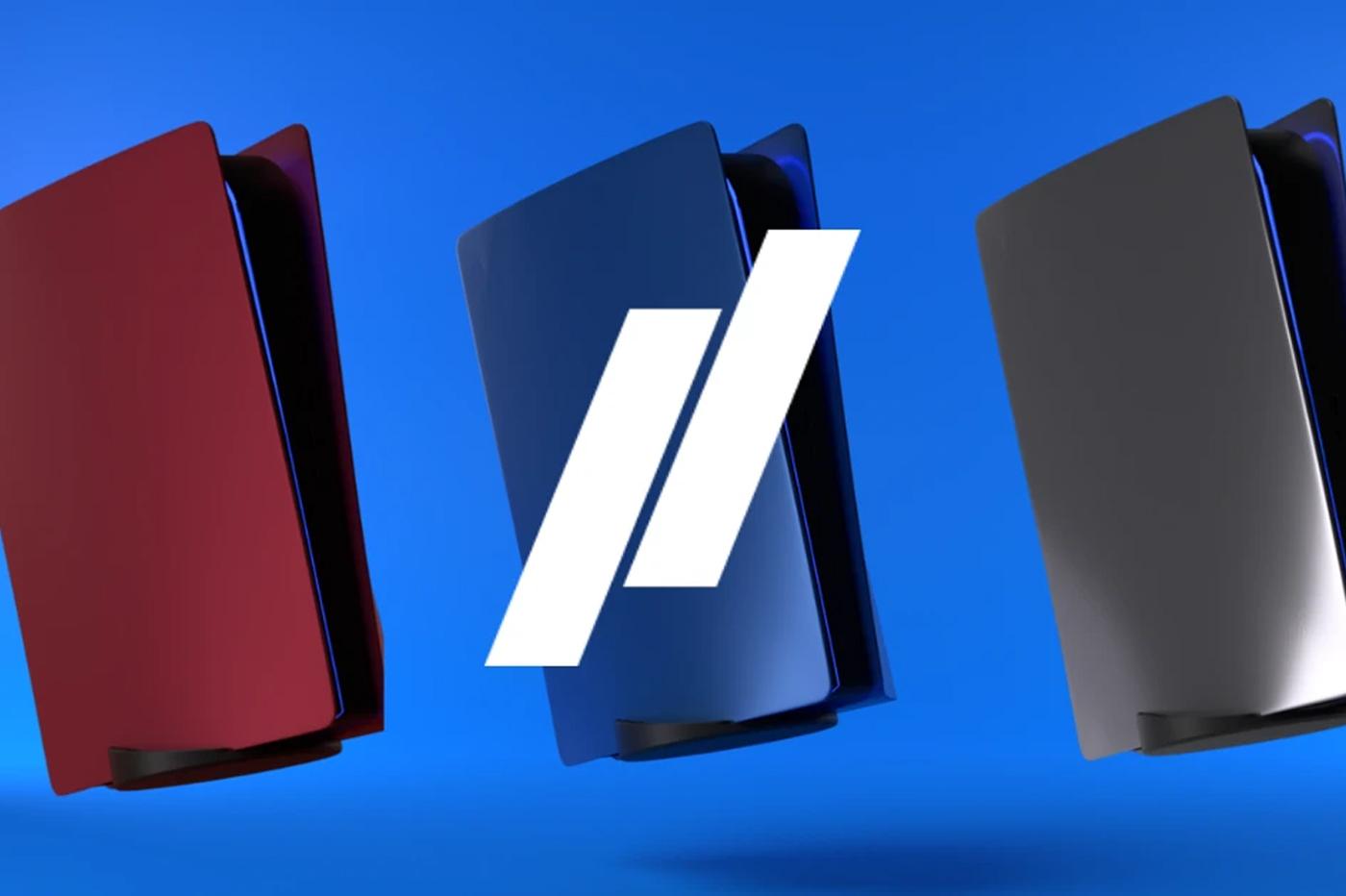 PlayStation 5 PS5 Couleur Noire, Bleue, Rouge, Chrome, Vert Camouflage