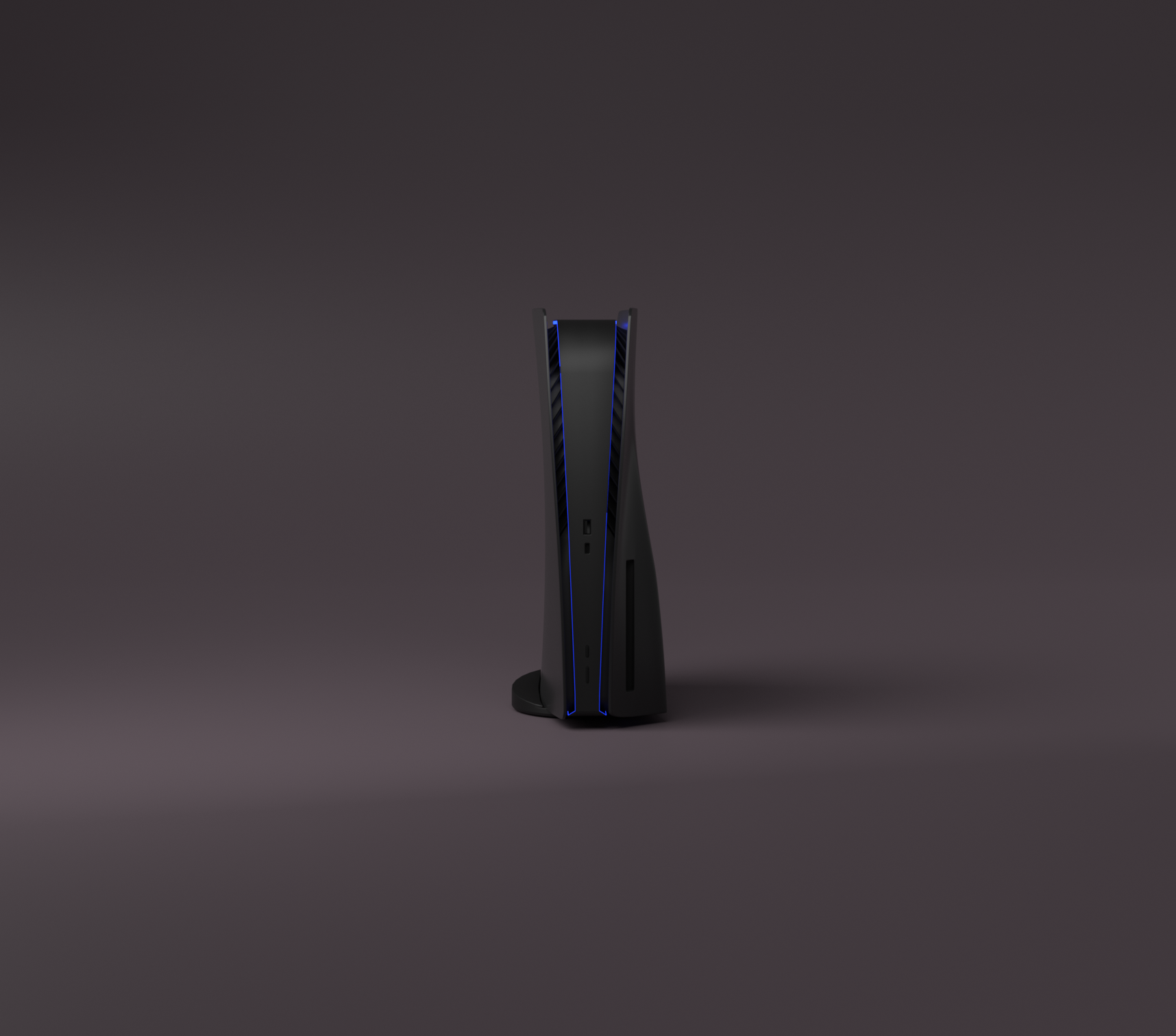 PlayStation 5 Noire Mat