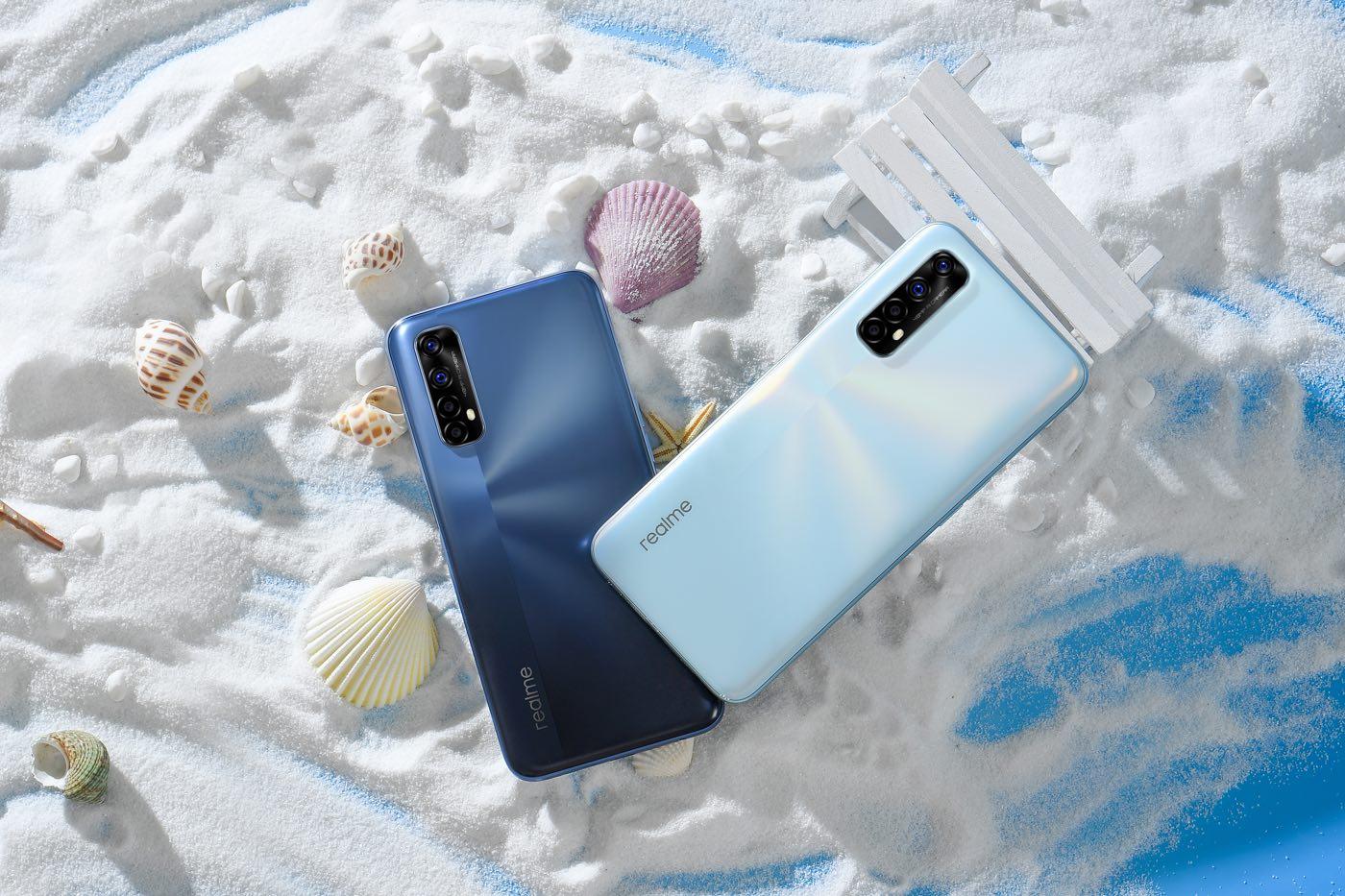 Découvrez les nouveaux smartphones de la série 7 — Realme