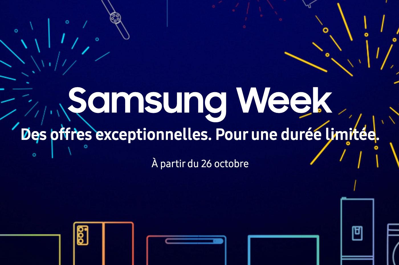 Samsung Week: les Galaxy S20, TV et autres tablettes sont à prix cassé 🔥