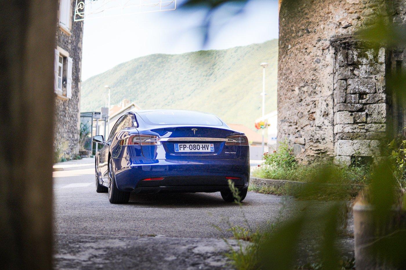 Tesla essai Model S