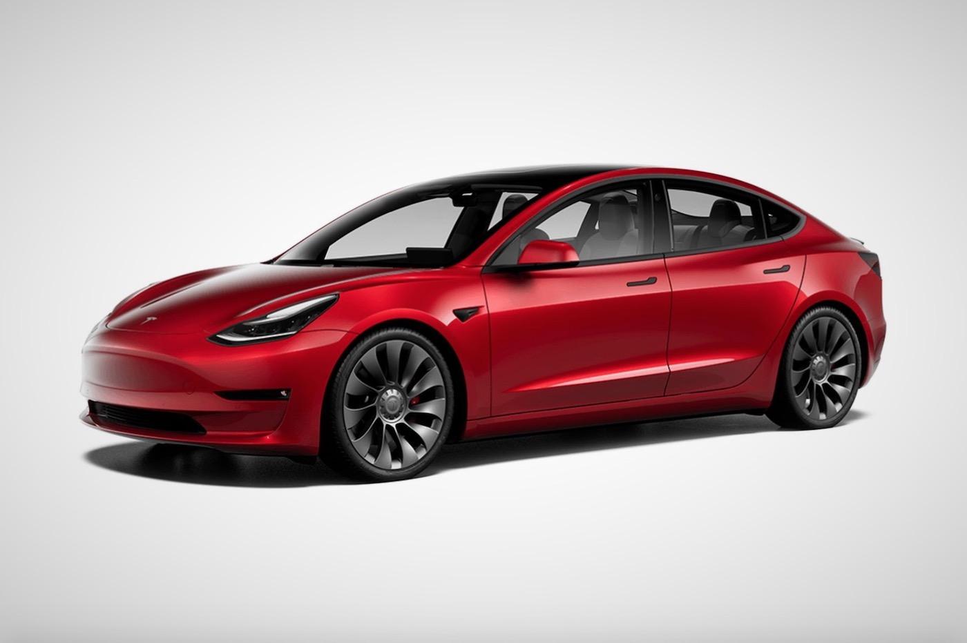 Model 3 Tesla 2020