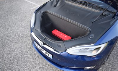Tesla Model S coffre avant