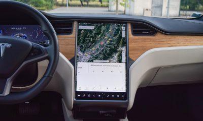 Tesla Model S ecran