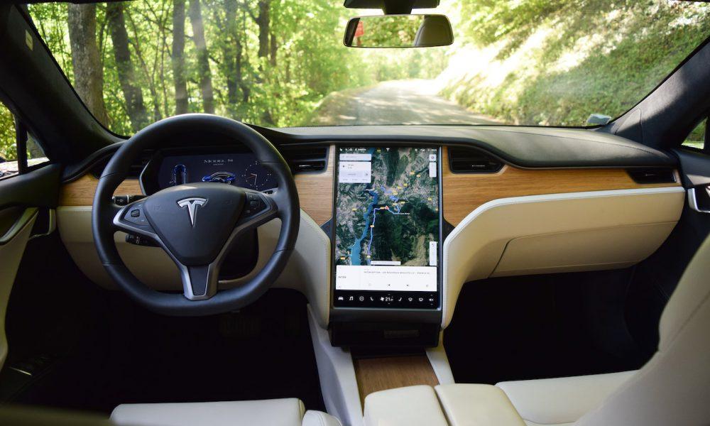 Tesla Model S habitacle