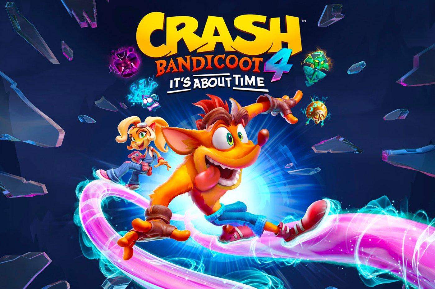 Test Crash Bandicoot 4 It's About Time