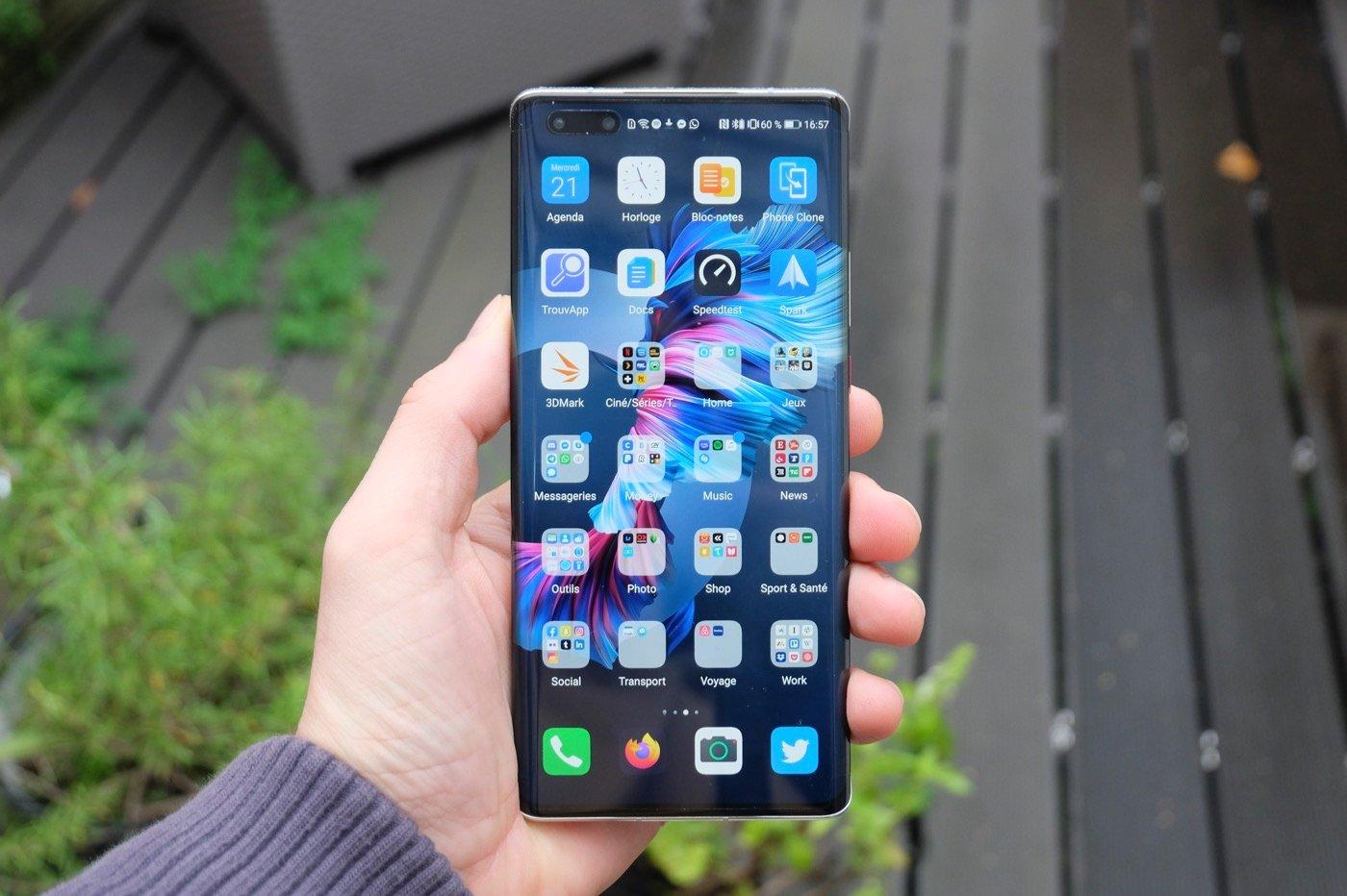 Samsung peut de nouveau fournir des écrans OLED à Huawei