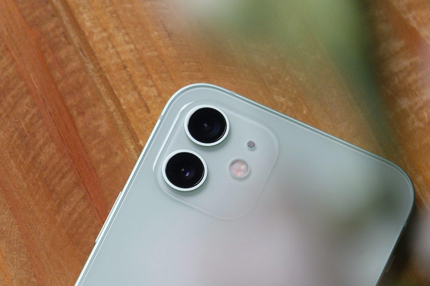 test iphone 12 appareil photo