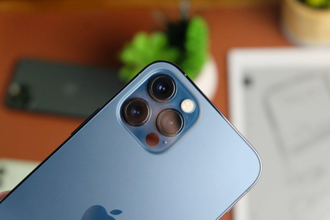 test iphone 12 pro appareil photo