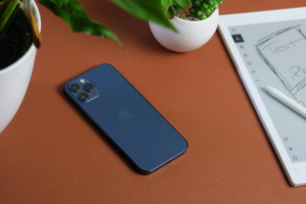 test iphone 12 pro design