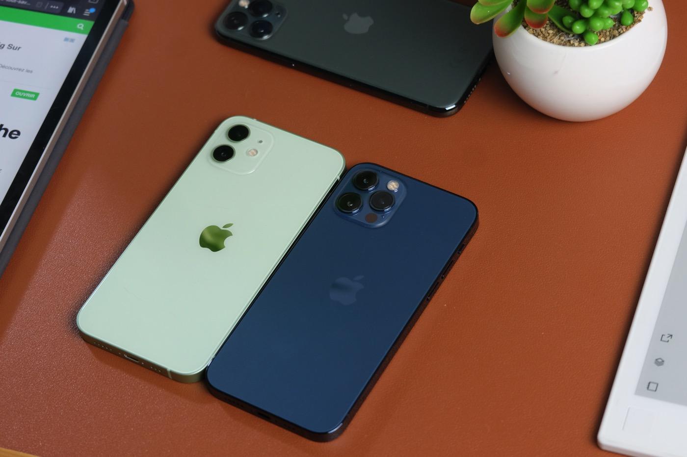 test iphone 12 pro vs iphone 12