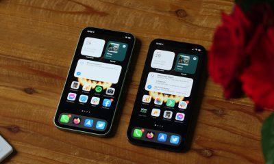 test iphone 12 vs pro ecran