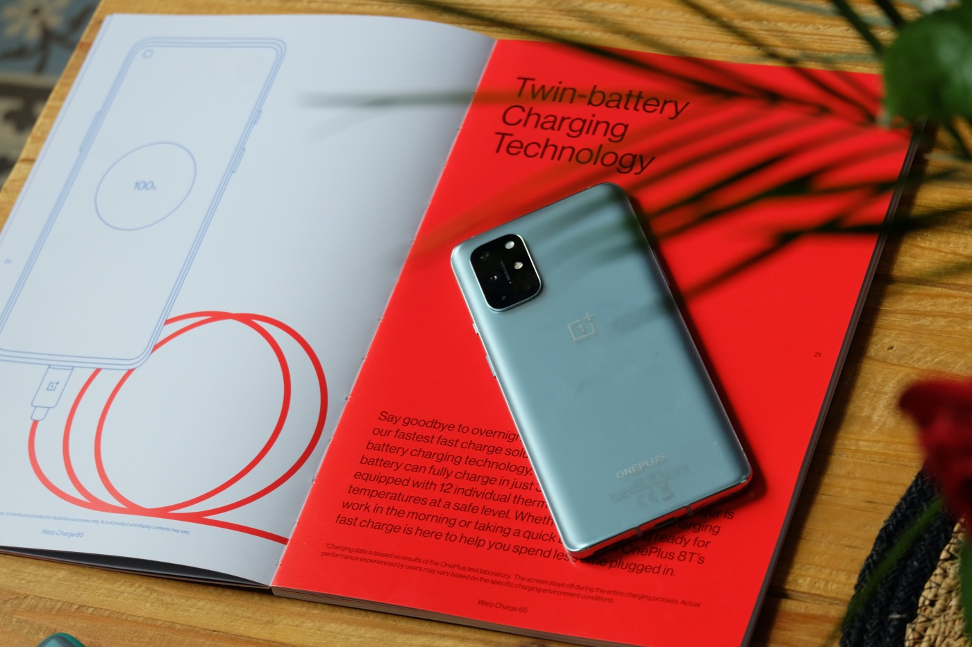 test oneplus 8t recharge