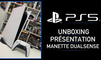 Unboxing PS5 PlayStation 5 Présentation Dualsense
