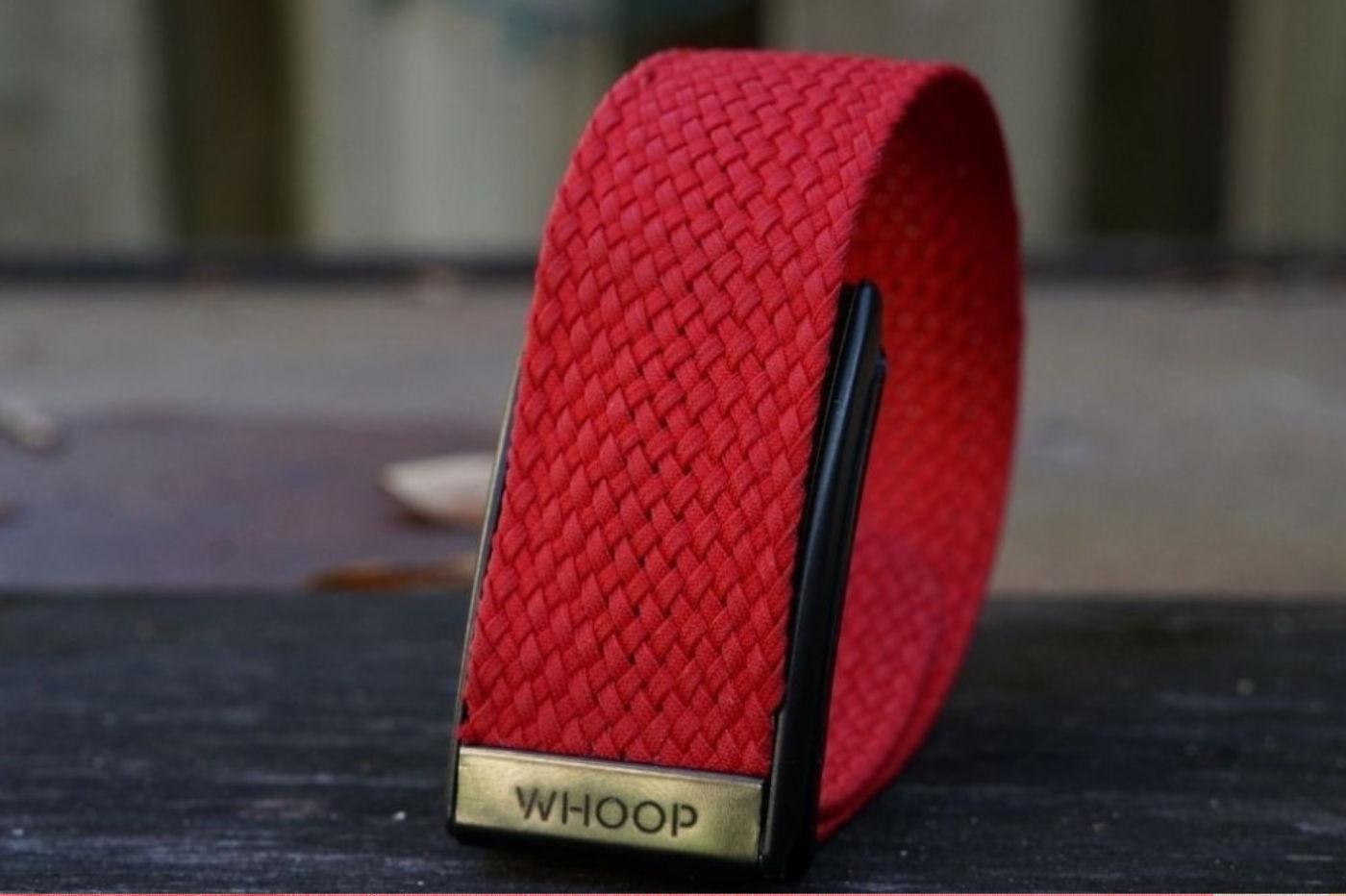 Whoop bracelet