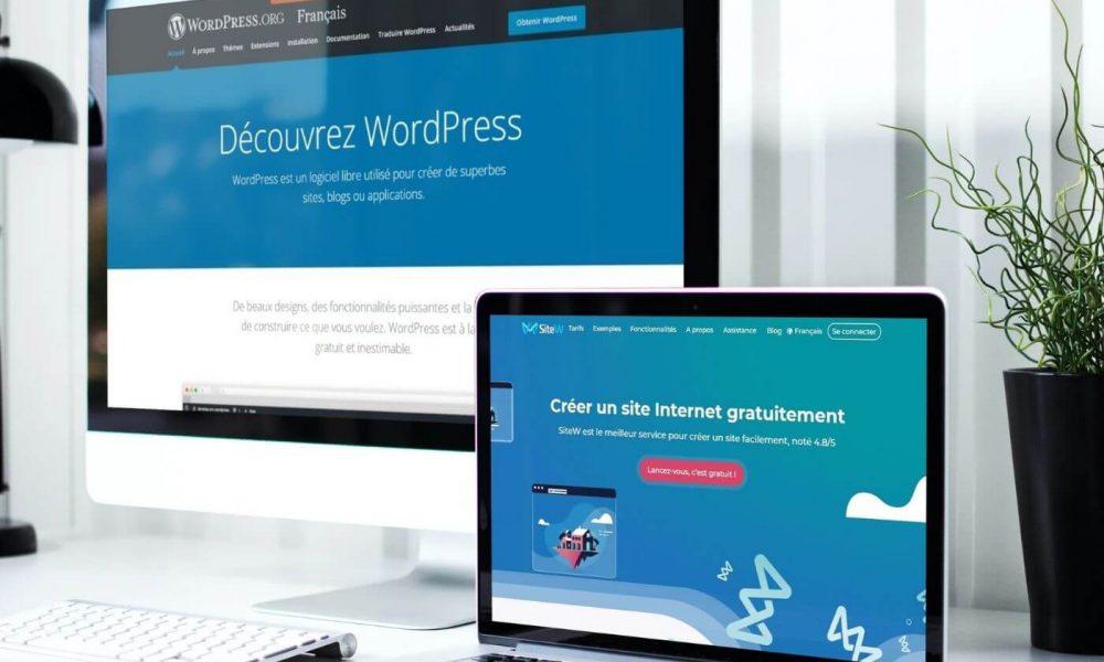 Création de site WordPress SiteW